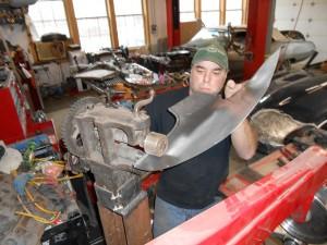 Jason builds a repair panel