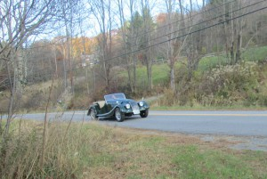 Patrick puts the hammer down in a Moggy