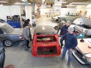 Sports Car Restorations Crew