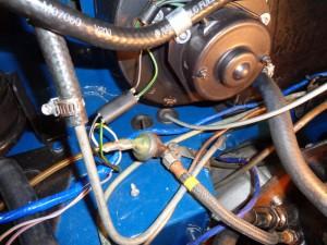 heater fan plug